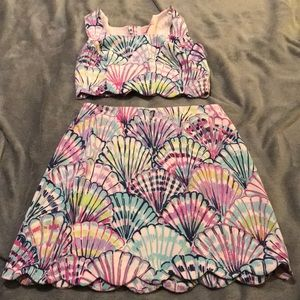 Lilly Pulitzer Oh Shello! Two Piece Set